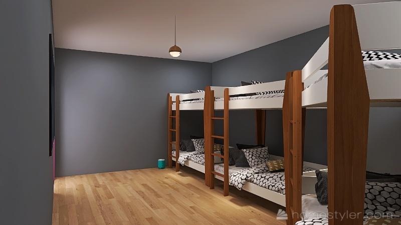 U2A4 Entertainment Bonus Room Guajardo, Abby Interior Design Render
