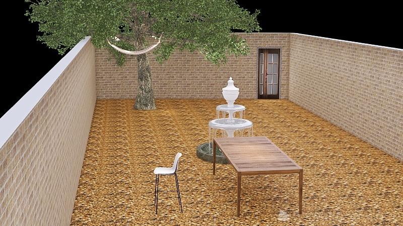 Courtyard 1.0 Interior Design Render