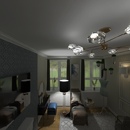 monika.. Interior Design Render