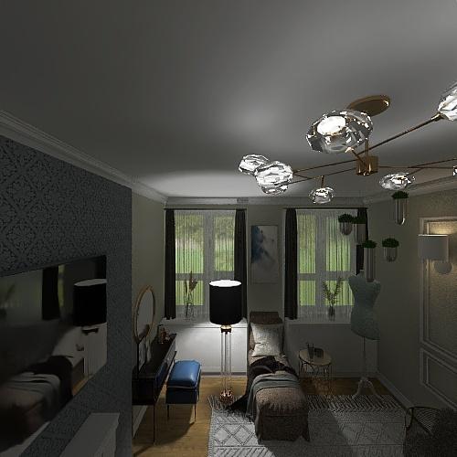 Monika Sobieskiego Interior Design Render