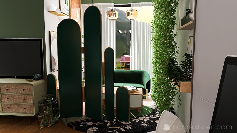Hogwarts Dorm Room Interior Design Render