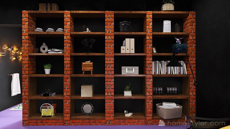 U2A5 Second Bonus Room Cassibo, Connor Interior Design Render