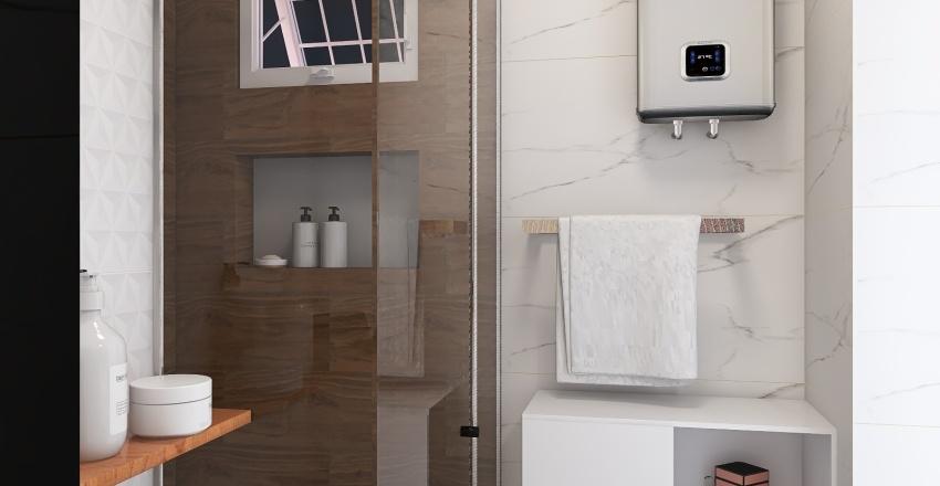 Banheiro Marcelo Interior Design Render