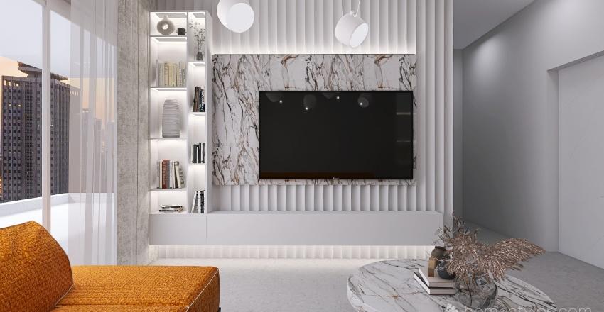 THE A APARTMENT Interior Design Render