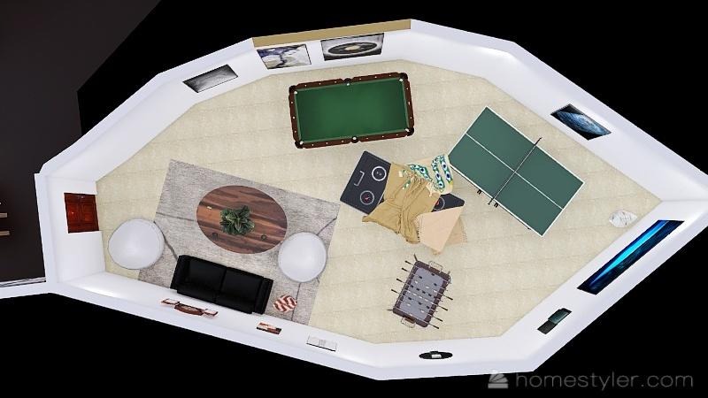 U2A4 Entertainment Bonus Room U2A4 Entertainment Bonus Room demers,nate Interior Design Render