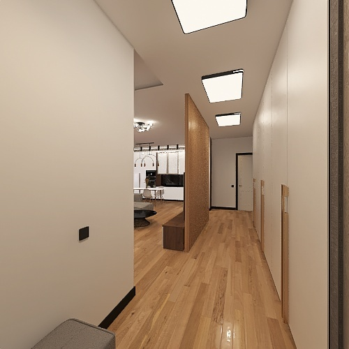 DAMBAEV'S HOME #2 Interior Design Render