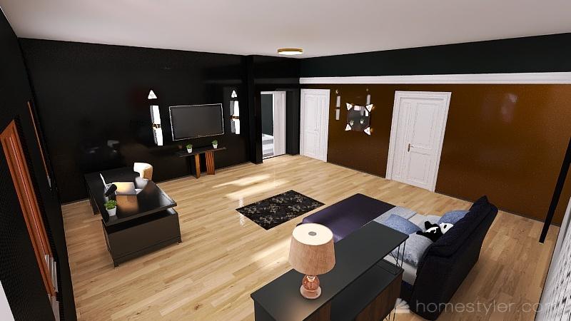 three thing i like abot my rume ishow iset up my lighting  Interior Design Render