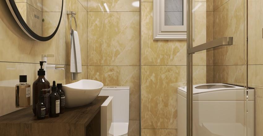 small apartment at Volos City Center_version II Interior Design Render