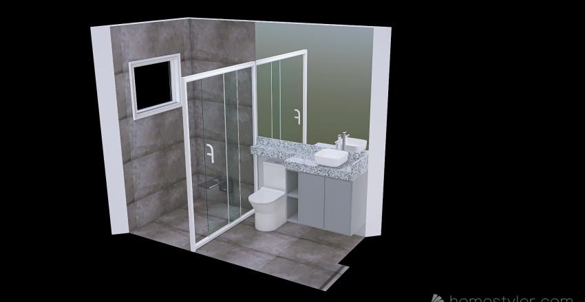 3d novo Interior Design Render