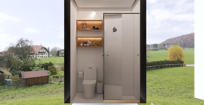 Vanessa 23/09 12h banheiro Interior Design Render