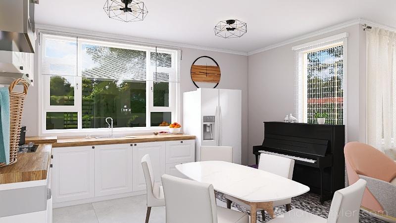 light and bright! :) Interior Design Render