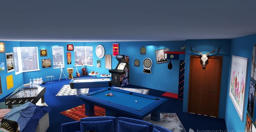 U2A4 Entertainment Bonus Room Gillespie, Michael Interior Design Render
