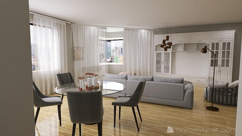 Hailey Luszcz's Tech class apartment challenge Interior Design Render