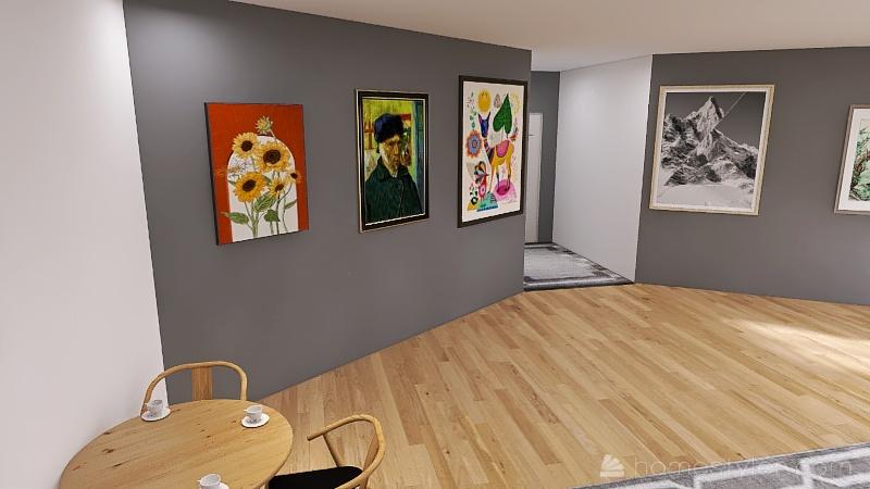 U2A5 Entertainment bonus room Ha, Kevin Interior Design Render