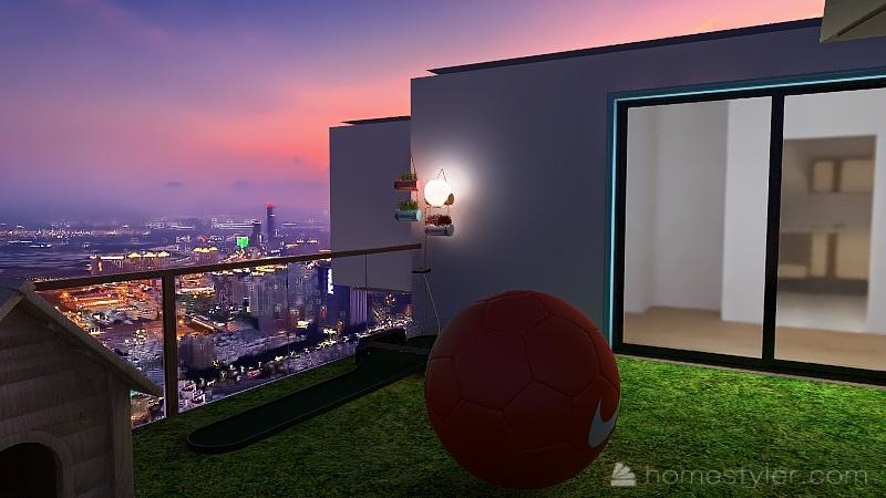 U2A5 second Bonus Room Guajardo, Abby Interior Design Render