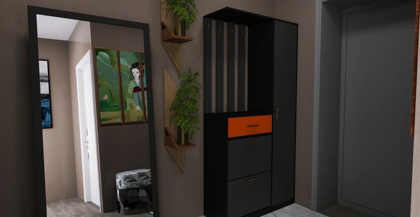 интерьер частного дома Interior Design Render
