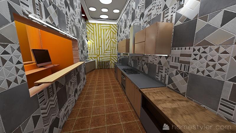 Remodelación Frisby Interior Design Render