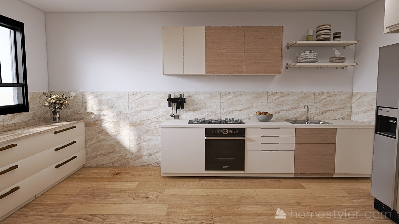 mishel family Interior Design Render