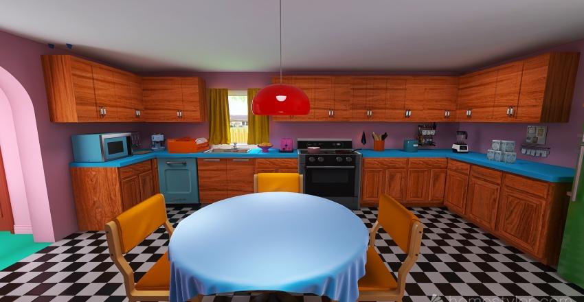 The Simpson Interior Design Render