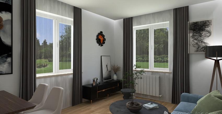 Flipping house Interior Design Render