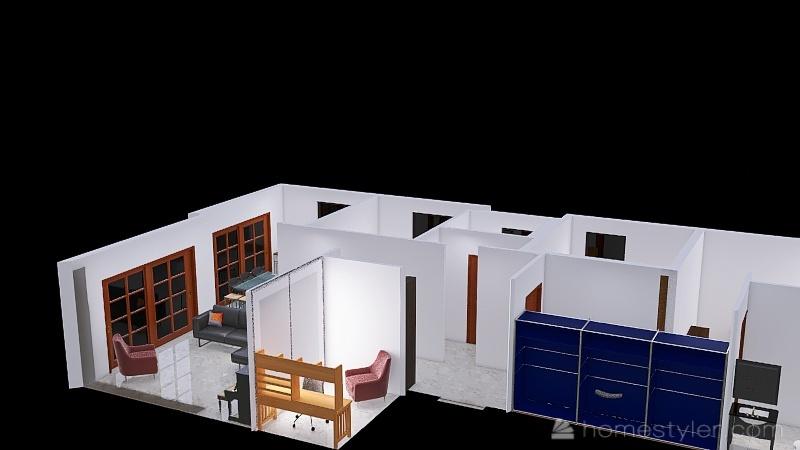 Move TV Interior Design Render