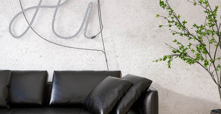 THE BACHELOR'S NEST Interior Design Render