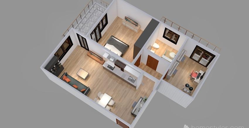 Polletrara originale Interior Design Render