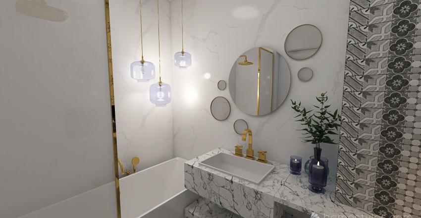 Marble Interior Design Render