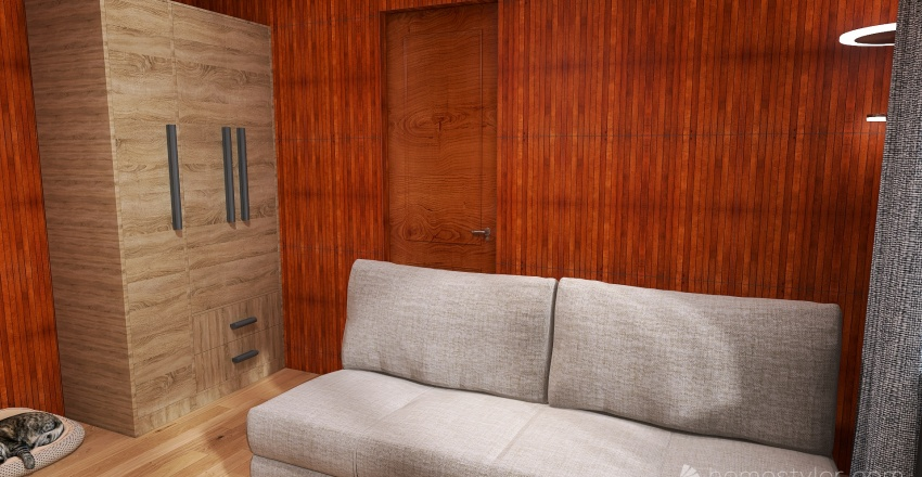 Mamka Lomnica Interior Design Render