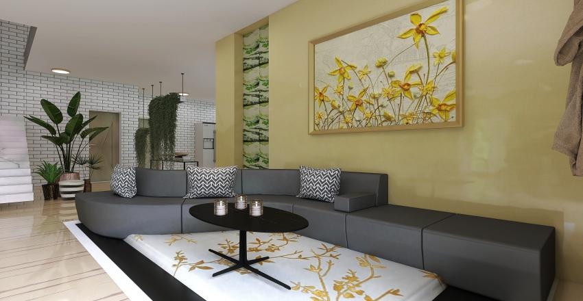 Dreamlike Interior Design Render