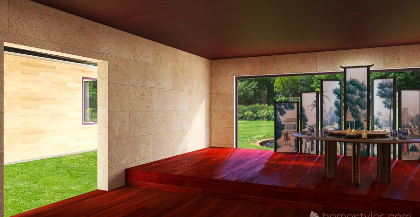 Shelter/School Sgt. Martin Abbey Interior Design Render