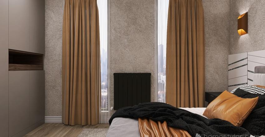 54 Sqm Interior Design Render
