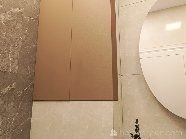 Зоологическая 12к1 душ Interior Design Render