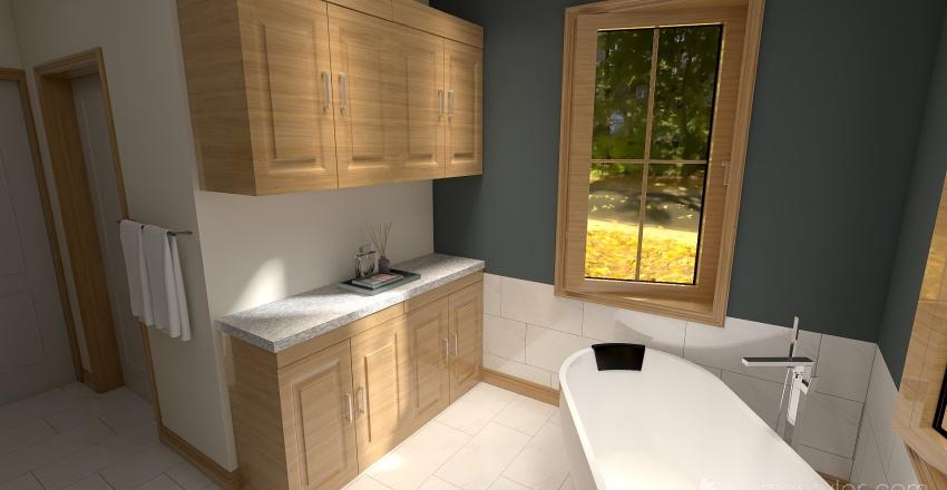 Mom and Dad Bathroom Interior Design Render