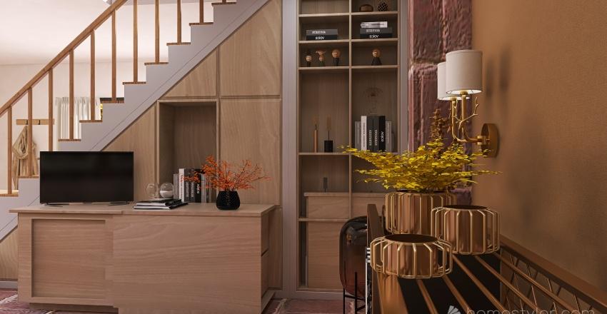 Autumn Accents Interior Design Render