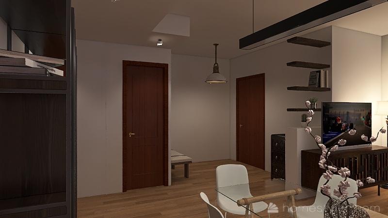 casa ok Interior Design Render