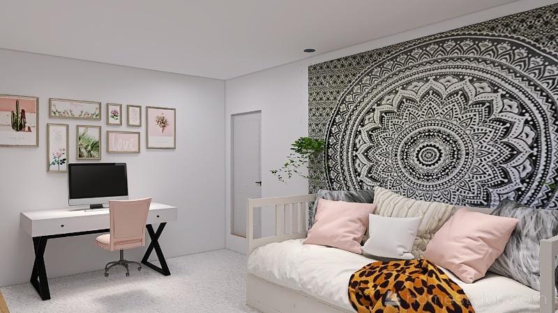 Basement with Suite Interior Design Render