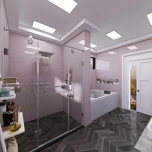 Chloe's bathroom  Interior Design Render