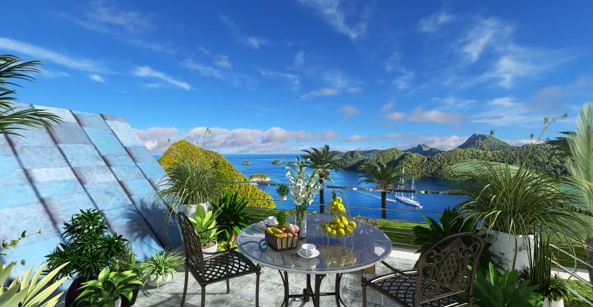 ISLAND LIVING Interior Design Render