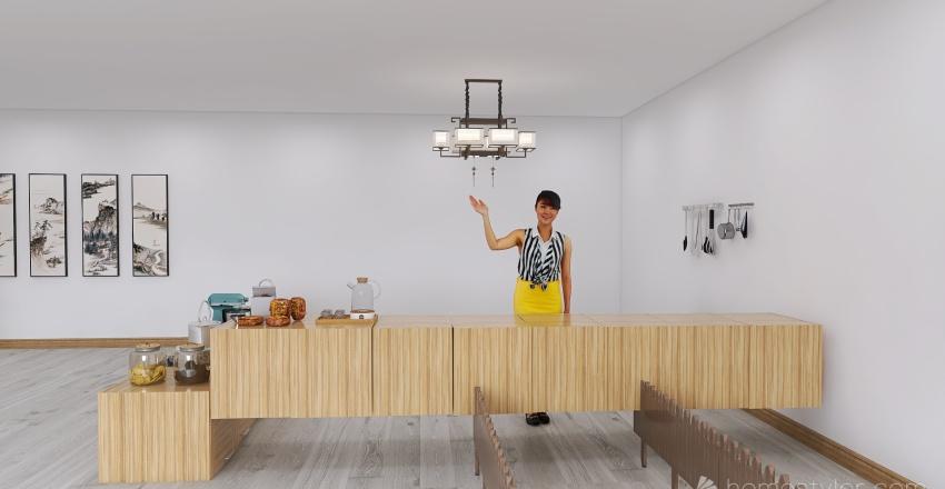 U2A6 Coffee House Butera, Emma Interior Design Render