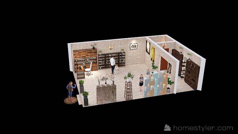 House 2 Interior Design Render