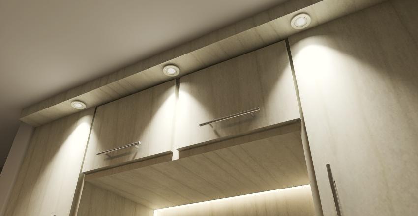 Proyecto Dormitorio Antonella R. Interior Design Render