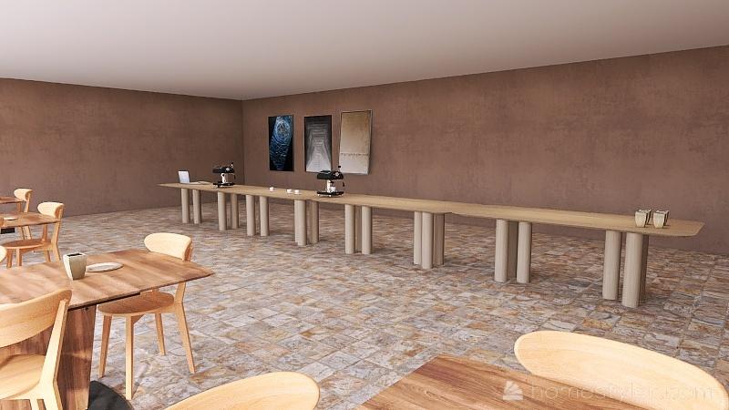 Unit A5 Coffee House,Rehkopf,Noah. Interior Design Render