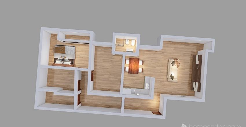 Nuova Sira - Via Arno 3 Interior Design Render