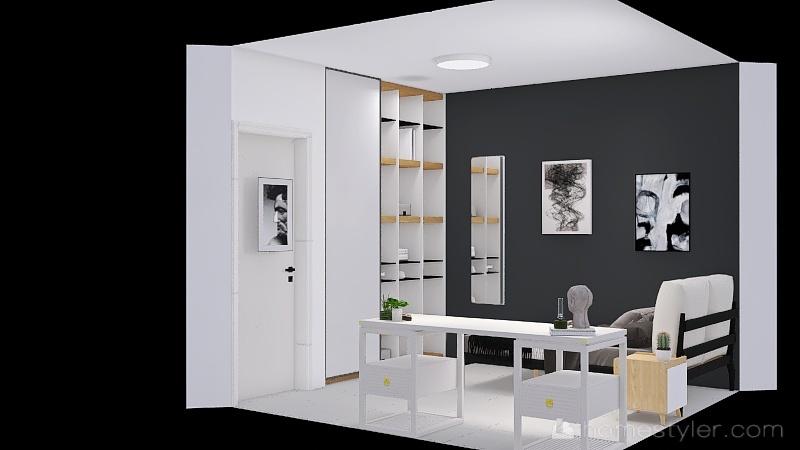 omer - room change Interior Design Render