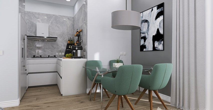 COLOMBO FINALE Interior Design Render