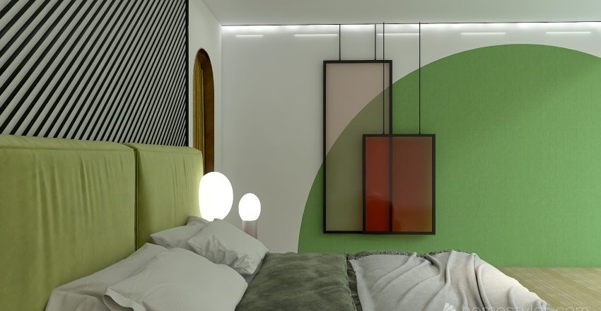 break-rules Interior Design Render