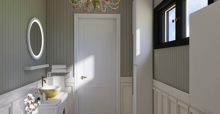 Baia de serviciu Nistor Interior Design Render