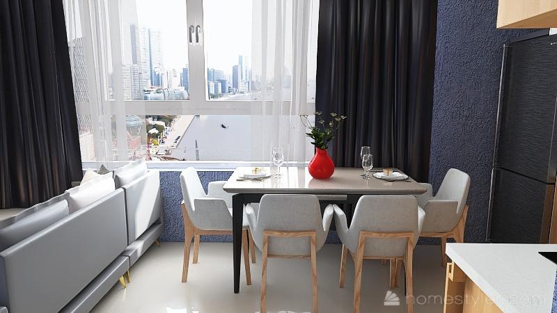 Mini 36m2 Interior Design Render