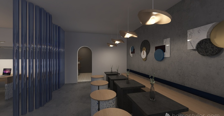 The little corner Interior Design Render
